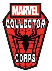 Marvel Comics POP! Pin Badge Collector Corps Spider-Man