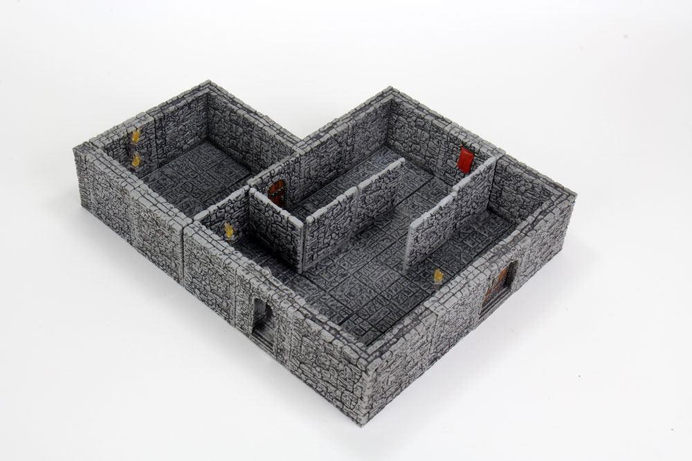 WarLock Tiles: Dungeon Tiles II - Full Height Stone Walls Expansion
