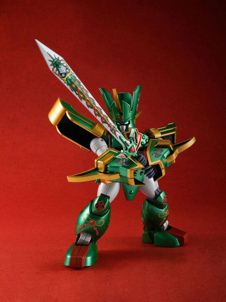 Mado King Granzort Variable Action Figure Super Granzort Okawara Kunio Color Ver. 16 cm