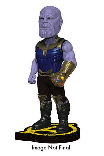 Avengers Infinity War Head Knocker Bobble-Head Thanos 20 cm