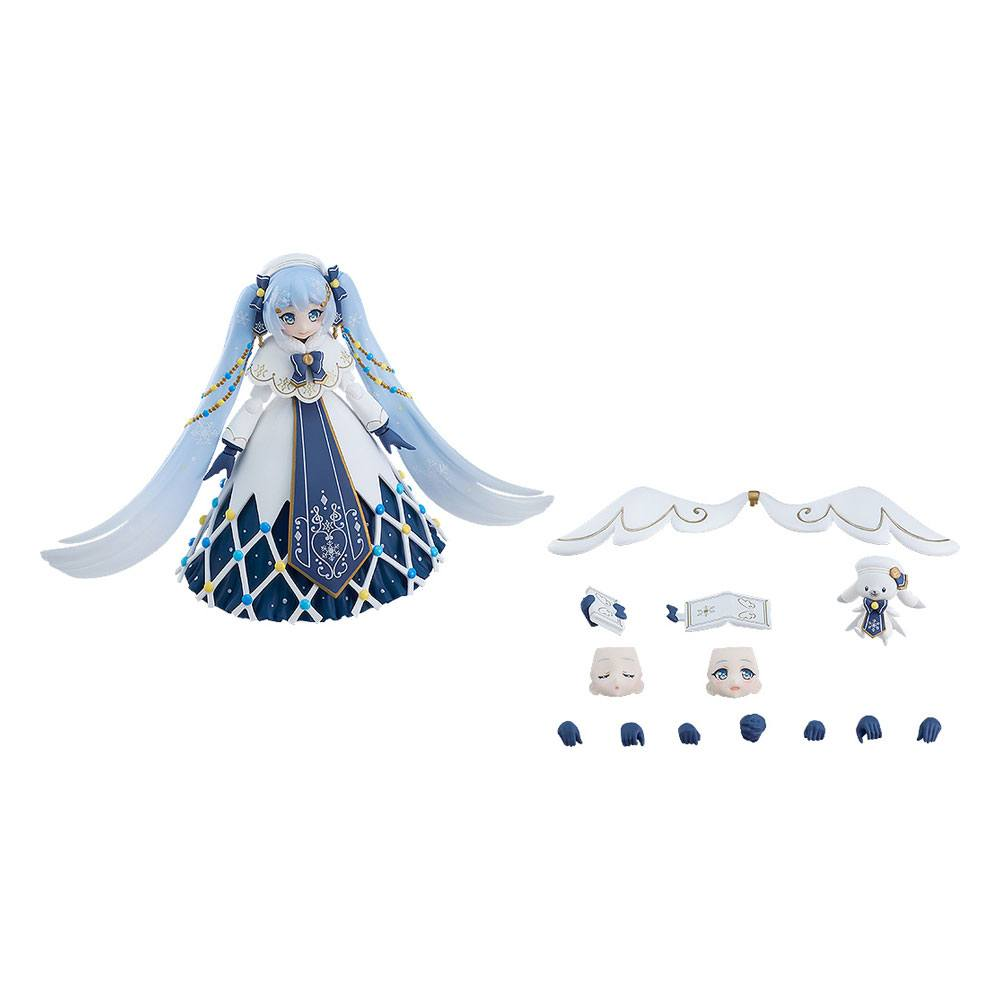 Character Vocal Series 01: Hatsune Miku Figma Action Figure Snow Miku: Glowing Snow Ver. 14 cm
