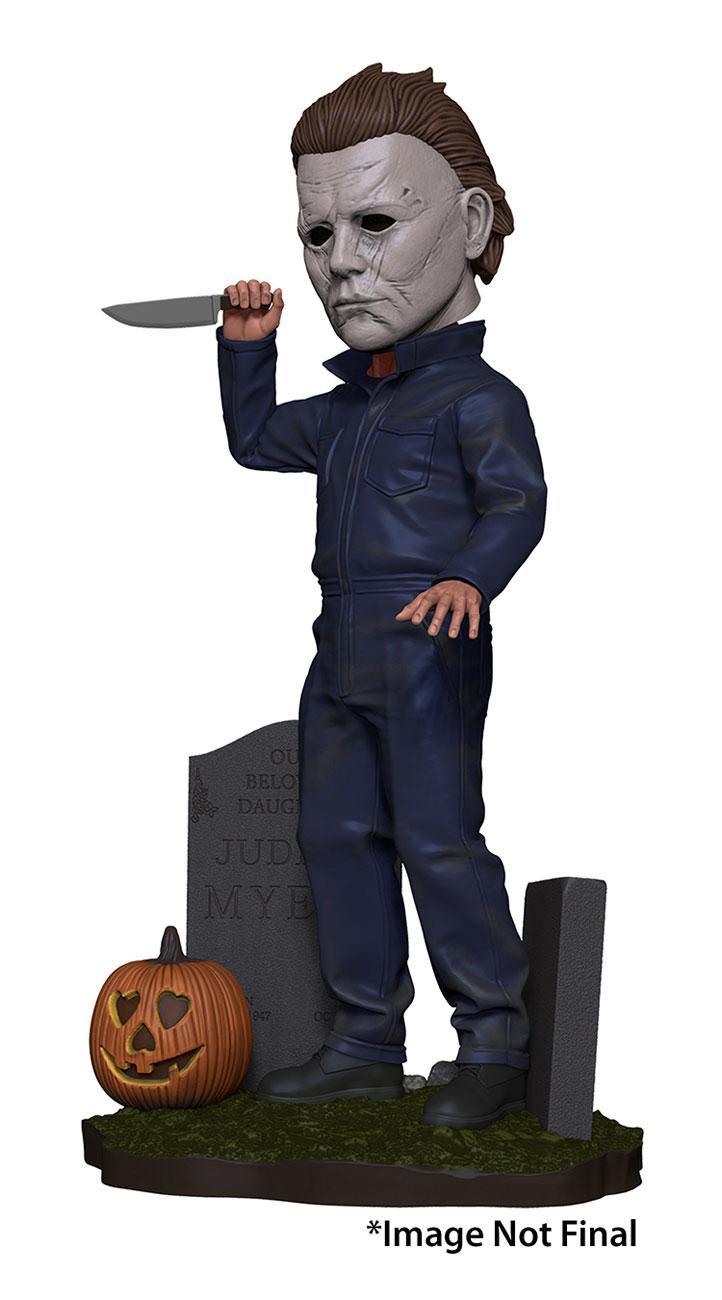 Halloween Head Knocker Bobble-Head Michael Myers 20 cm