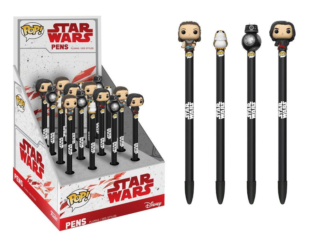 Star Wars Episode VIII POP! Pens with Toppers Display Classic (16)