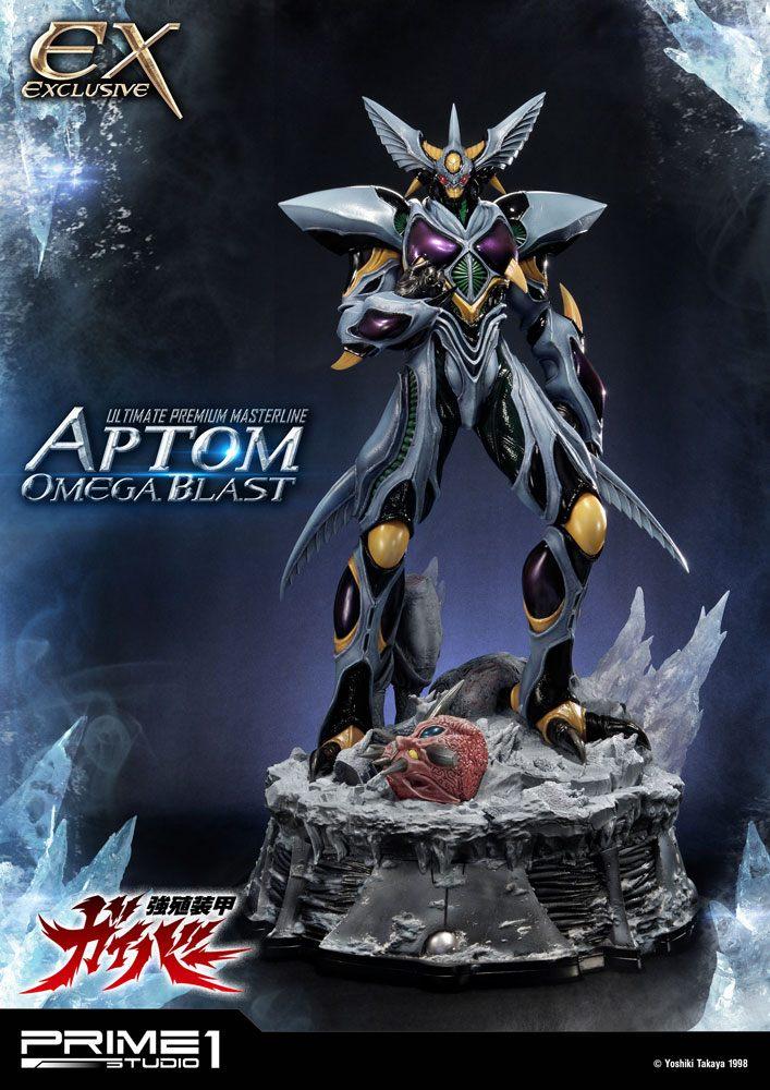 Guyver The Bioboosted Armor Statues Aptom Omega Blast & Exclusive 84 cm Assortment (3)