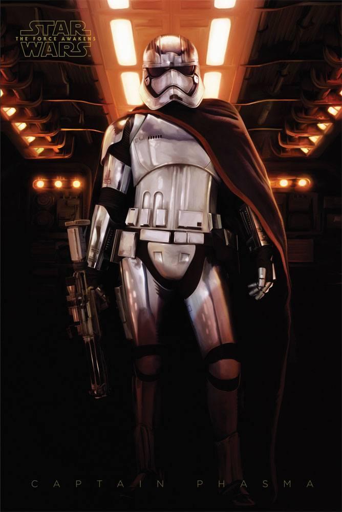 Star Wars Episode VII Poster Pack Captain Phasma 61 x 91 cm (5)