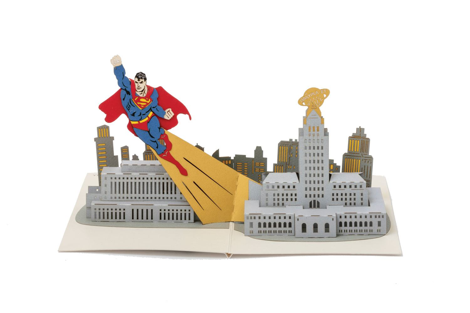 DC Comics 3D Pop-Up Greeting Card Superman