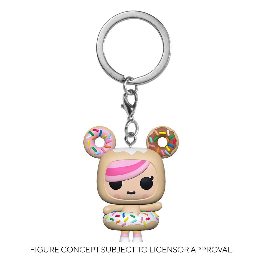 Tokidoki Pocket POP! Vinyl Keychains 4 cm Donutella Display (12)