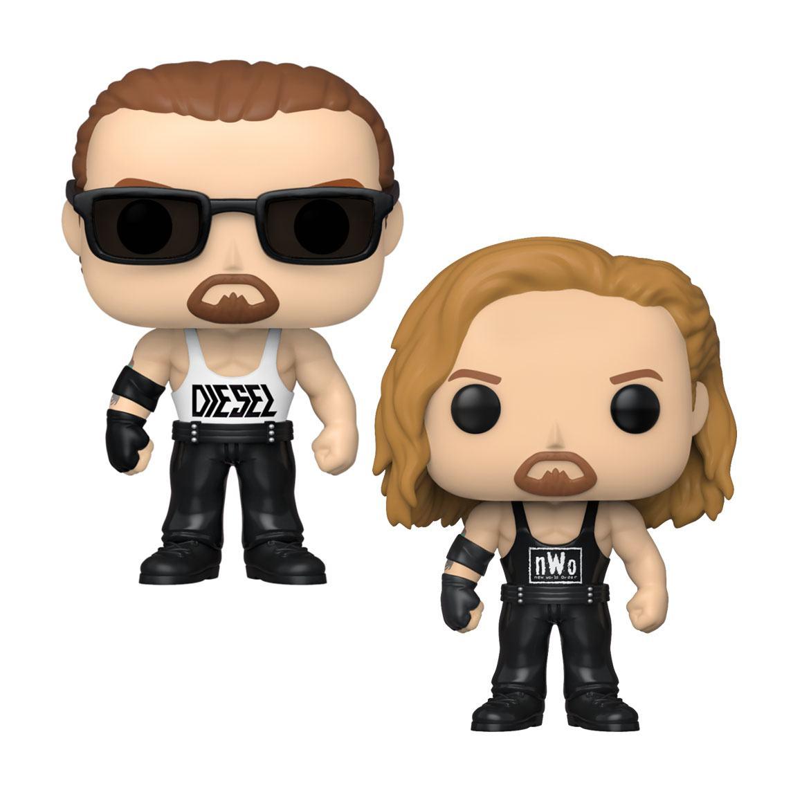 WWE POP! Vinyl Figures Diesel 9 cm Assortment (6)