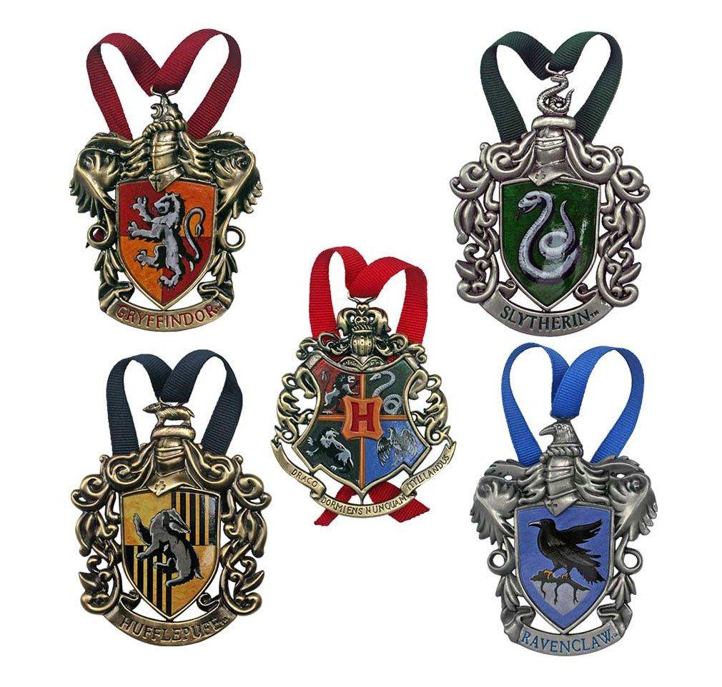 Harry Potter Tree Ornaments Hogwarts 5-Pack