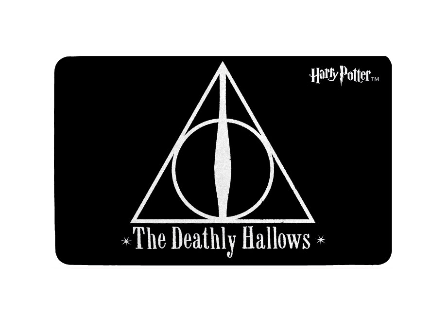 Harry Potter Carpet Deathly Hallows 80 x 50 cm