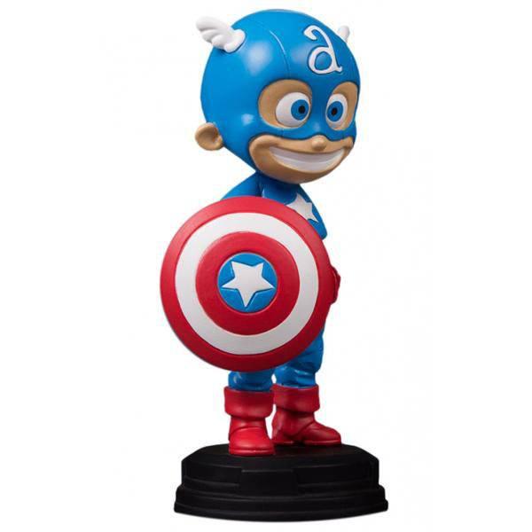 Marvel Comics Mini-Statue Captain America 15 cm