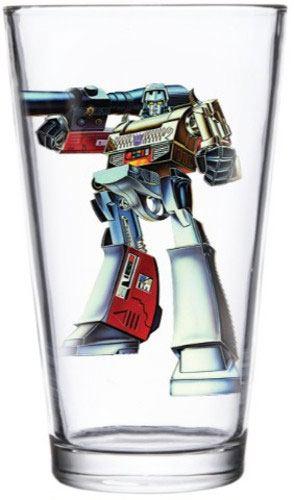 Transformers Pint Glass Megatron