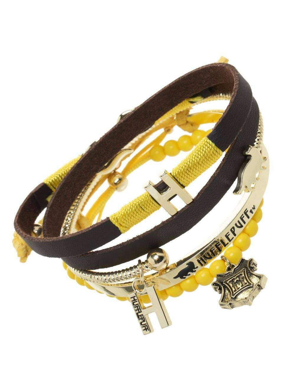 Harry Potter Wristband Set Hufflepuff Arm Party