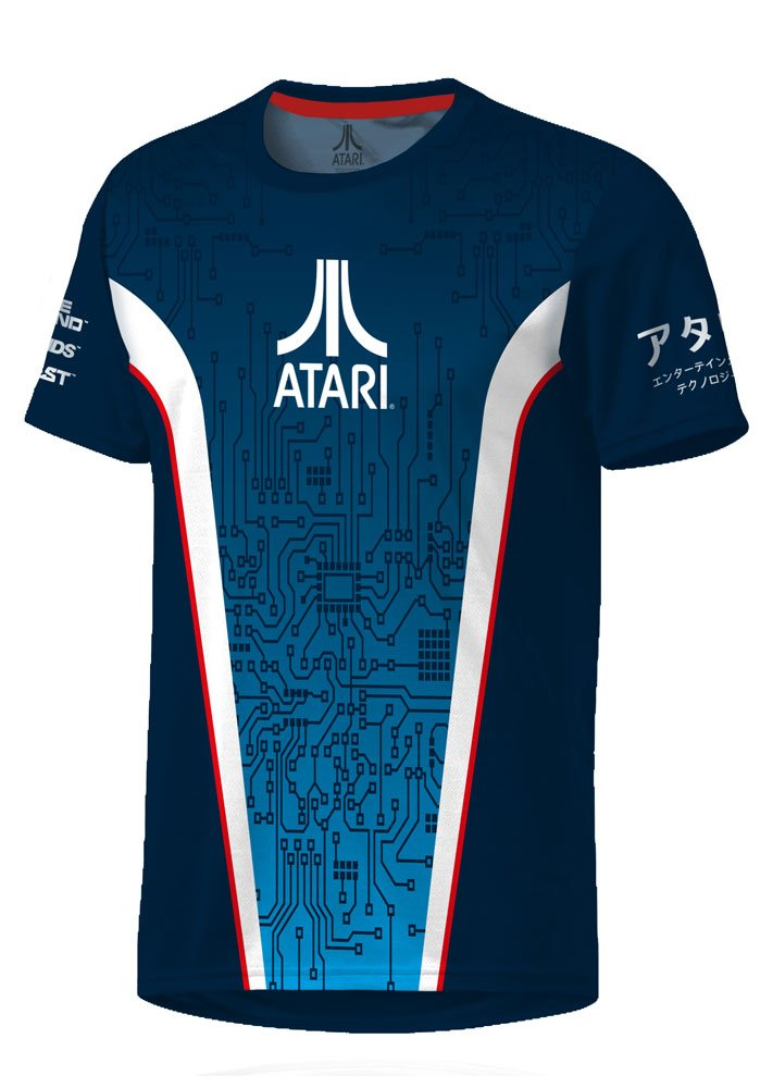 Atari eSport Gear Functional T-Shirt Curcuit Size S