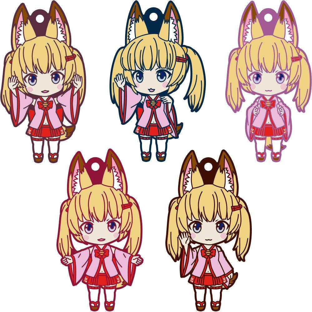 Kemomimi Oukoku Kokuei Housou Nendoroid Plus Rubber Charms 7 cm Assortment (5)