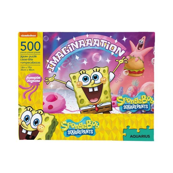 SpongeBob Jigsaw Puzzle Imaginaaation (500 pieces)