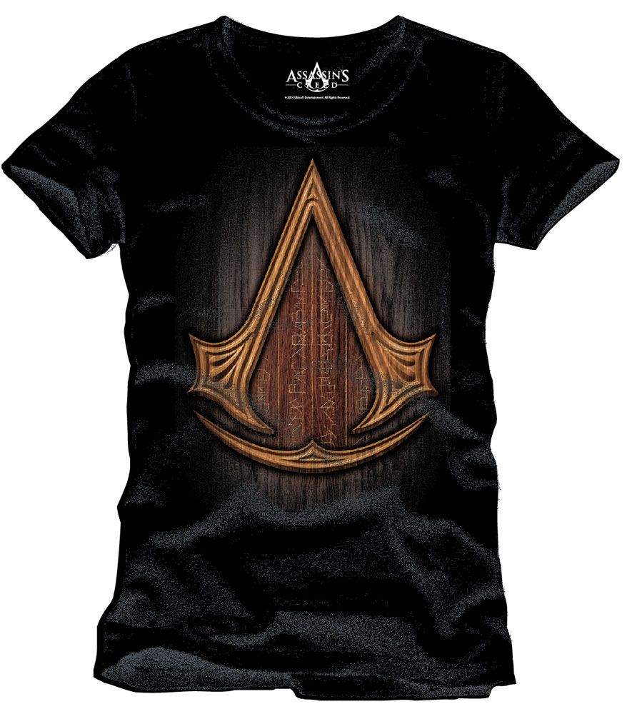 Assassin's Creed T-Shirt Insignia Wood Size M
