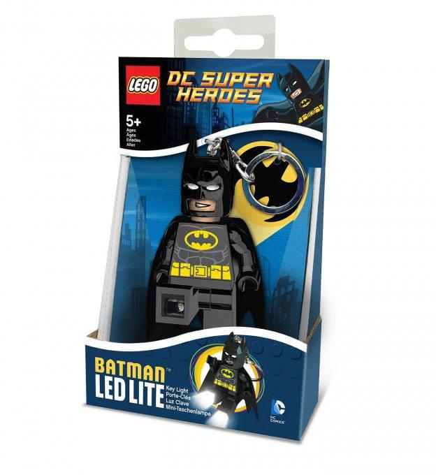 Lego DC Comics Mini-Flashlight with Keychains Batman 12 cm