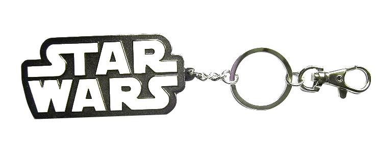 Star Wars Metal Keychain Logo