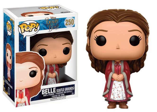 Beauty and the Beast POP! Disney Vinyl Figure Belle (Castle Grounds Outfit) 9 cm