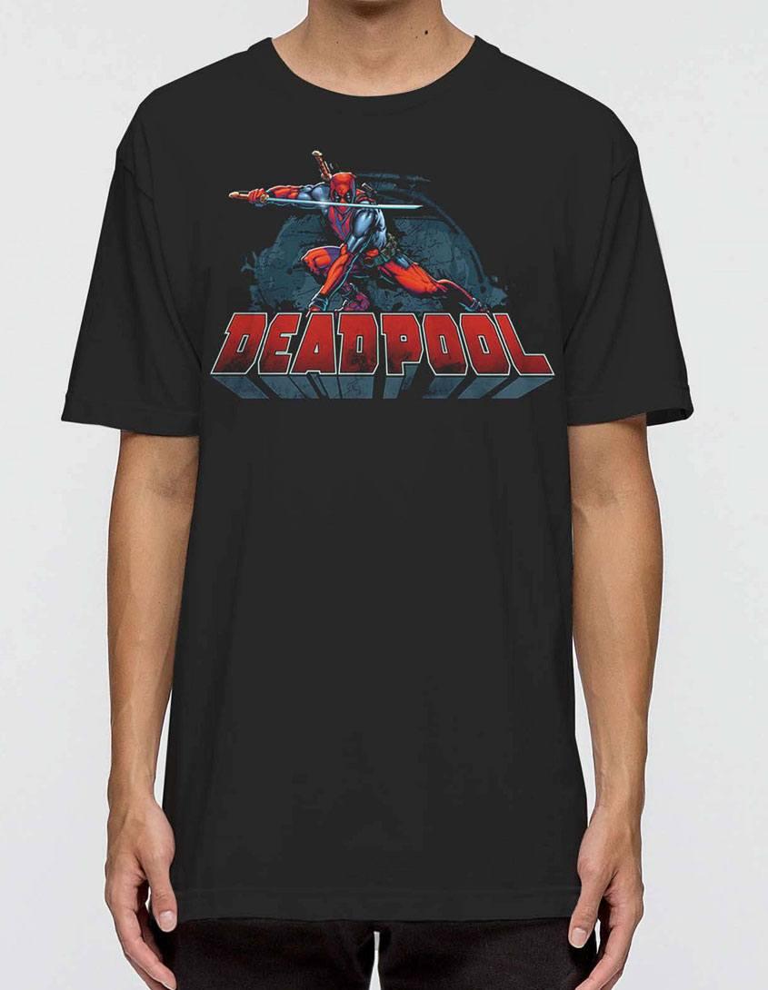Deadpool T-Shirt Stance Size M