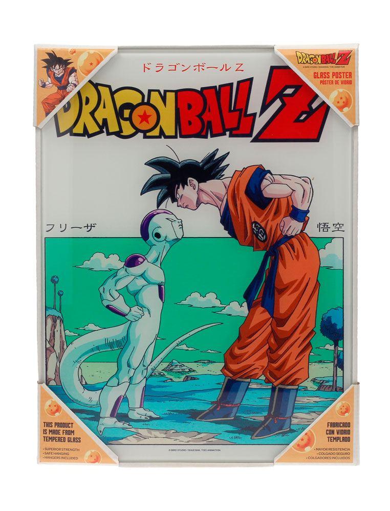 Dragonball Z Glass Poster Freezer 30 x 40 cm