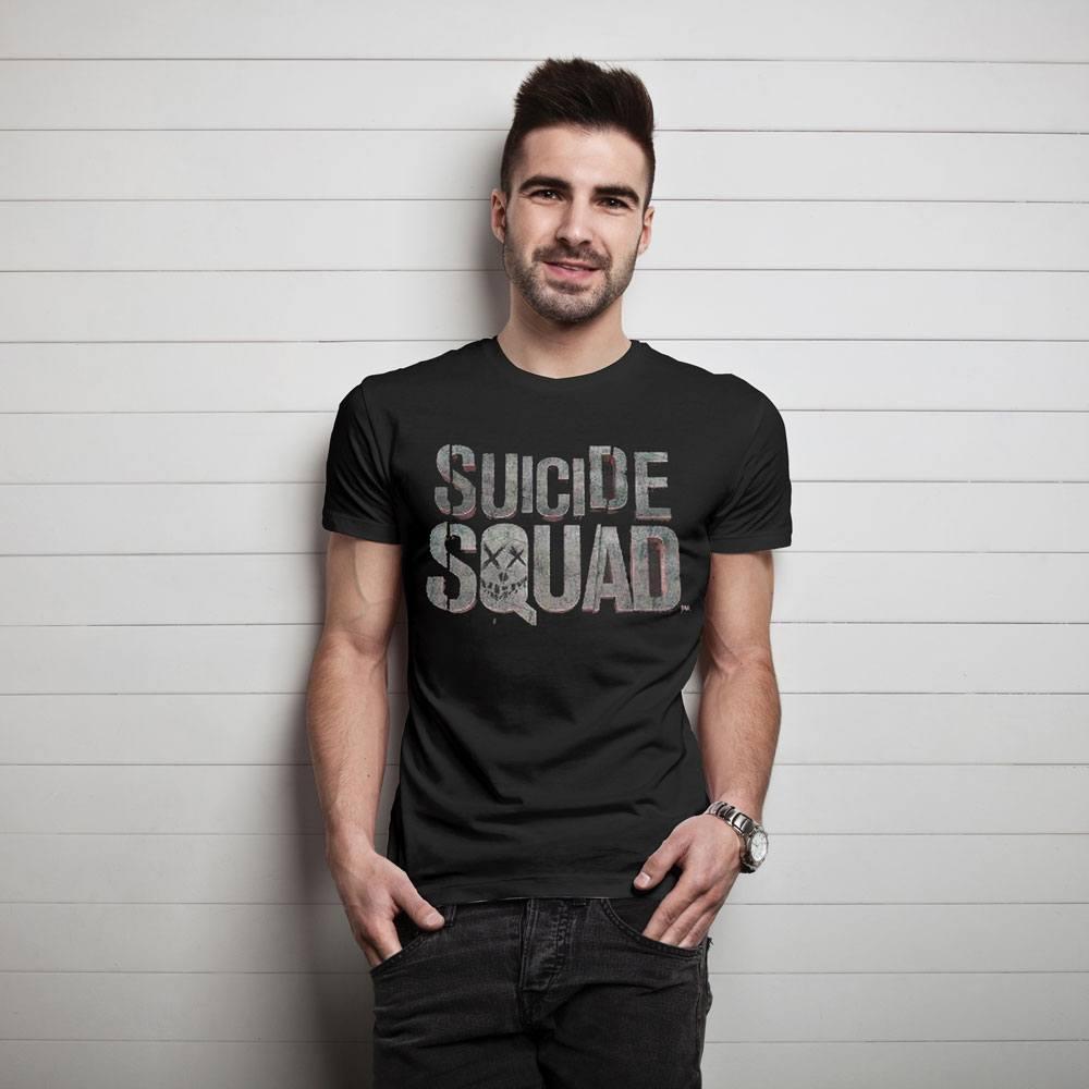 Suicide Squad T-Shirt Logo Size S