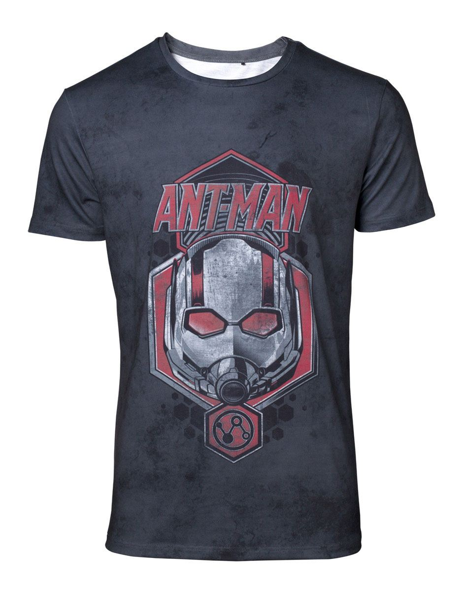 Ant-Man & The Wasp T-Shirt Distressed Ant-Man Size S