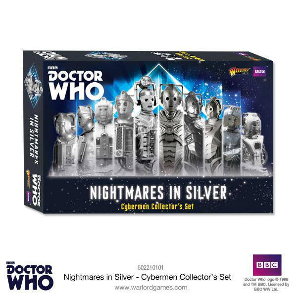 Doctor Who Exterminate! Miniatures Nightmares in Silver Cybermen Collectors Set *English Version*