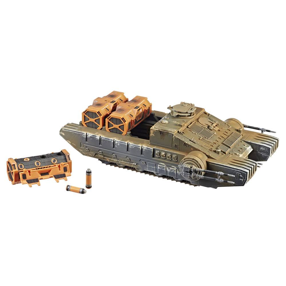 Star Wars Rogue One Black Series Vintage 3 3/4-inch Vehicle Imperial Combat Assault Tank --- DAMAGED PACKAGING