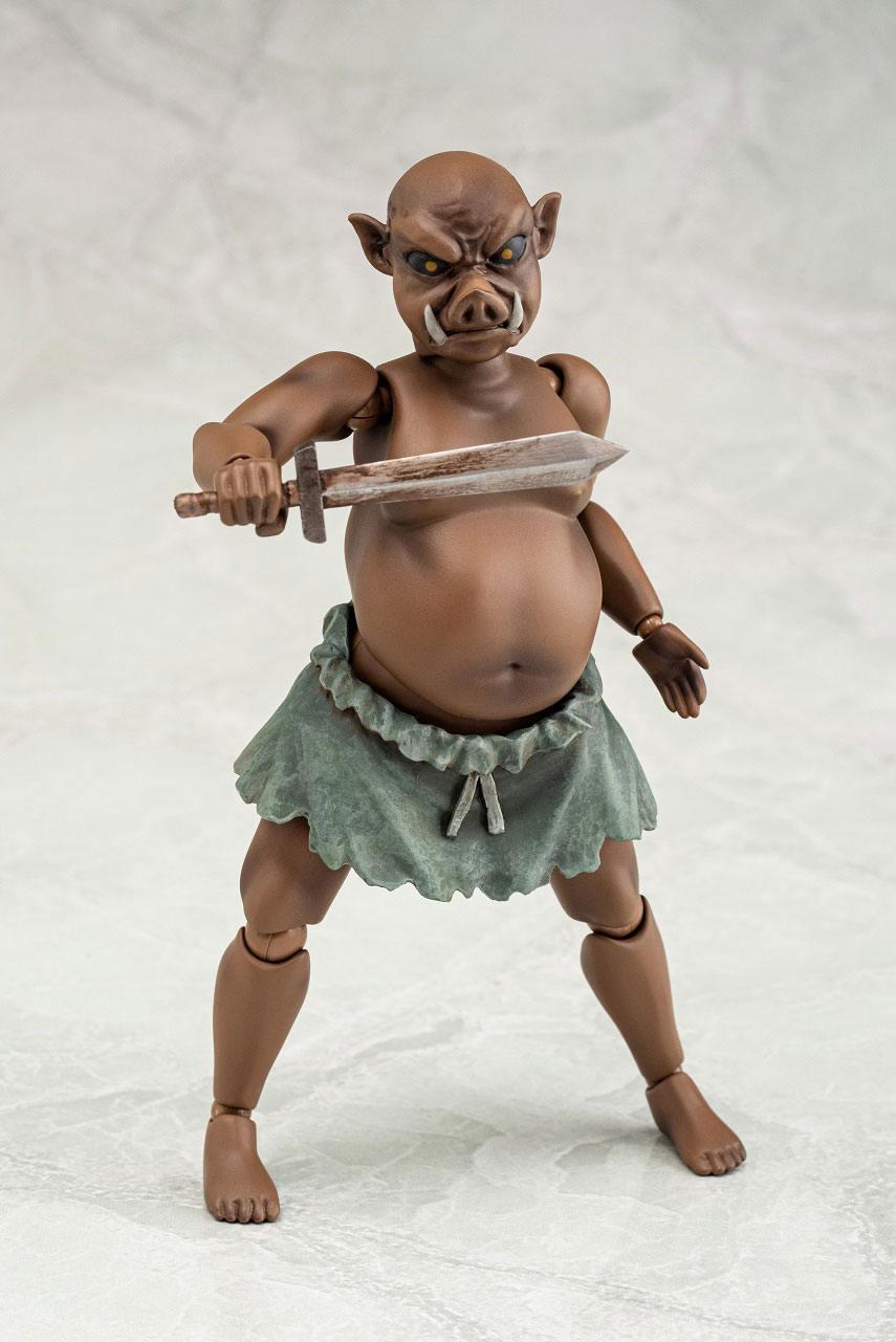 Original Character Action Figure 1/12 Daiki no Orc-san 15 cm