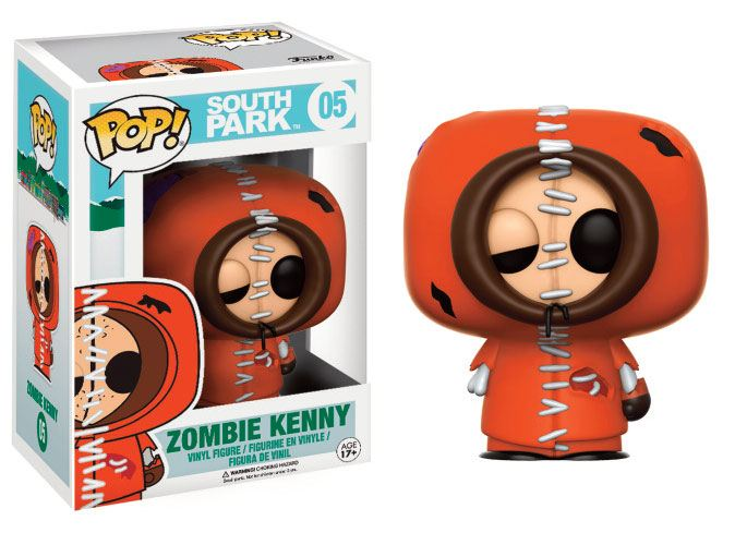 South Park POP! TV Vinyl Figure Zombie Kenny 9 cm