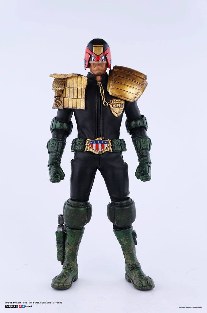 2000 AD Action Figure 1/6 Judge Dredd 31 cm