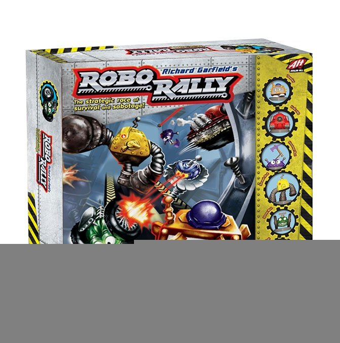 Avalon Hill Board Game Robo Rally english