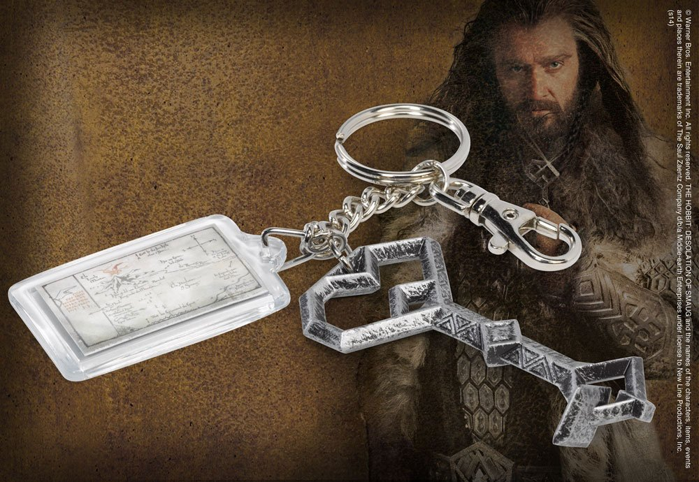 The Hobbit Metal Keychain Thorin´s Key