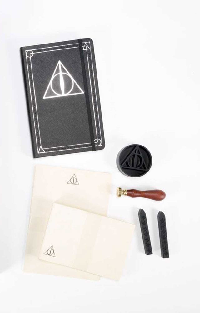 Harry Potter Deluxe Stationery Set The Deathly Hallows