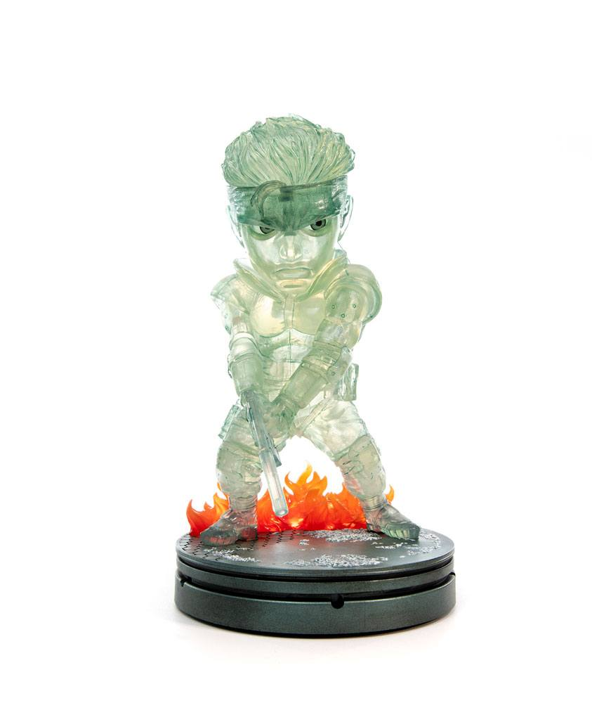 Metal Gear Solid PVC SD Statue Solid Snake Stealth Camouflage Ver. 20 cm