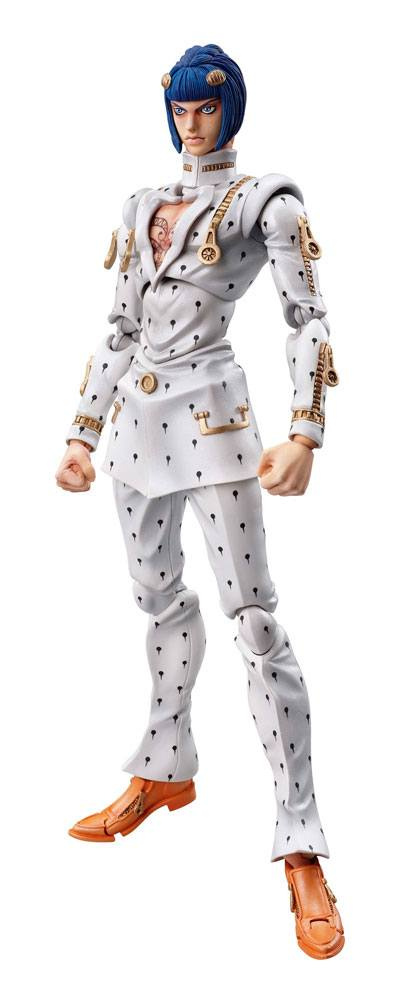 JoJo's Bizarre Adventure Super Action Action Figure Bruno Bucciarati 16 cm