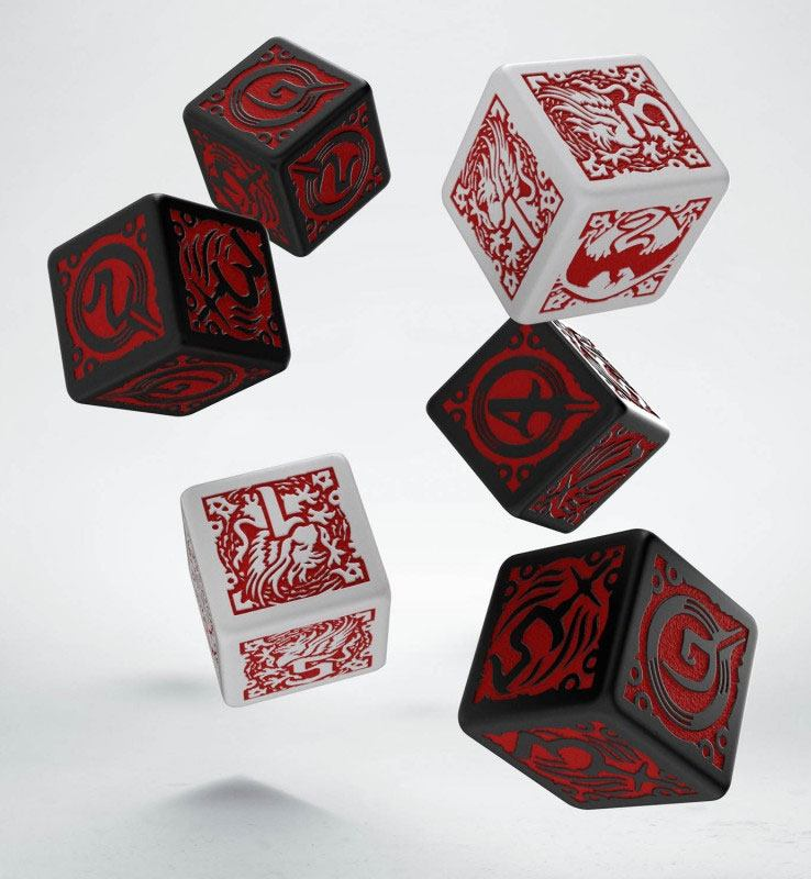 Dragon Age Dice Set D6 (6)