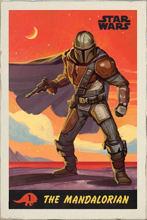 Star Wars The Mandalorian Poster Pack Poster 61 x 91 cm (5)
