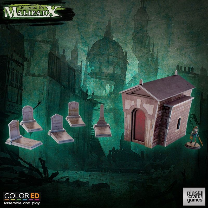 Malifaux ColorED Miniature Gaming Model Kit 32 mm Circus Prop Set
