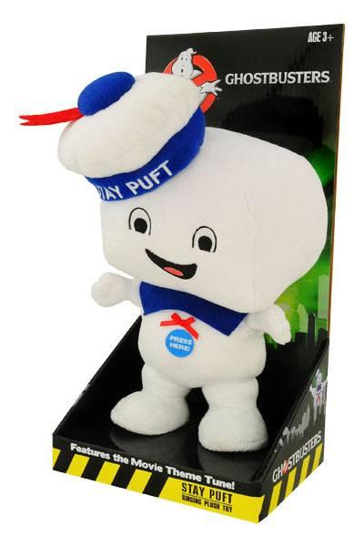 Ghostbusters Talking Plush Figure Stay Puft Marshmallow Man Happy 38 cm *English Version*
