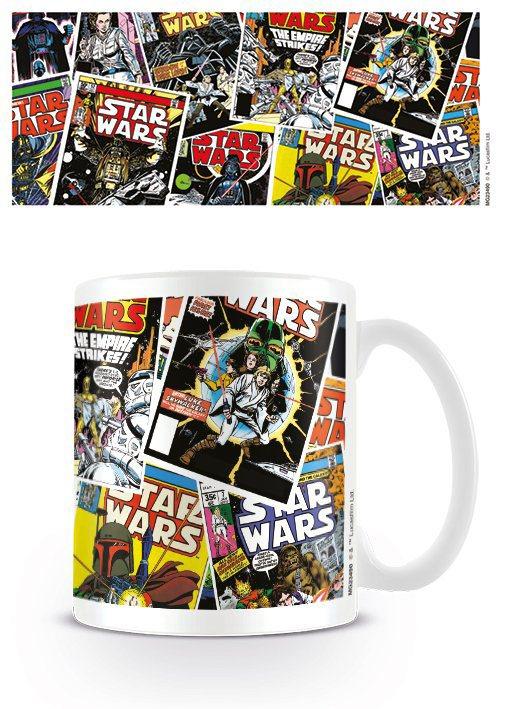 Star Wars Mug Comic Covers