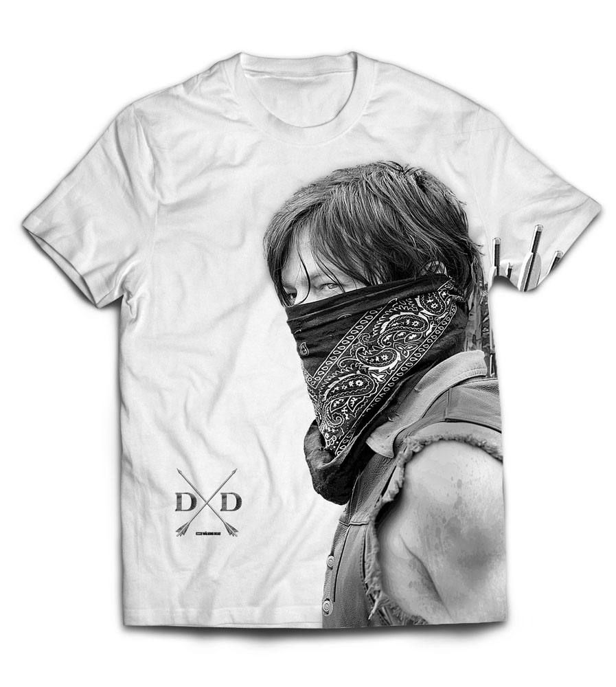 Walking Dead Sublimation T-Shirt Daryl Size L