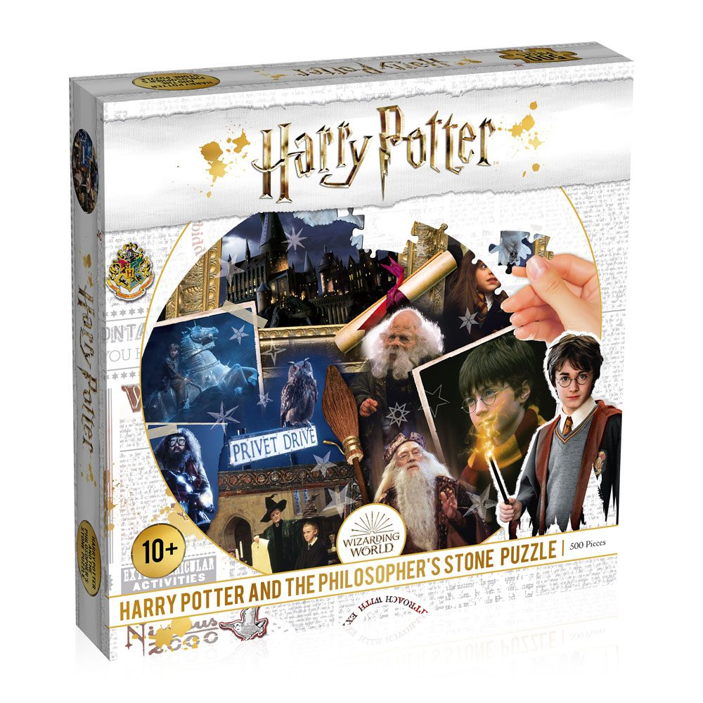 Harry Potter Jigsaw Puzzle Philosopher's Stone