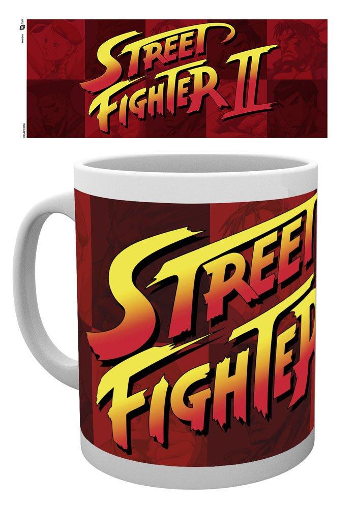 Street Fighter Mug Logo II