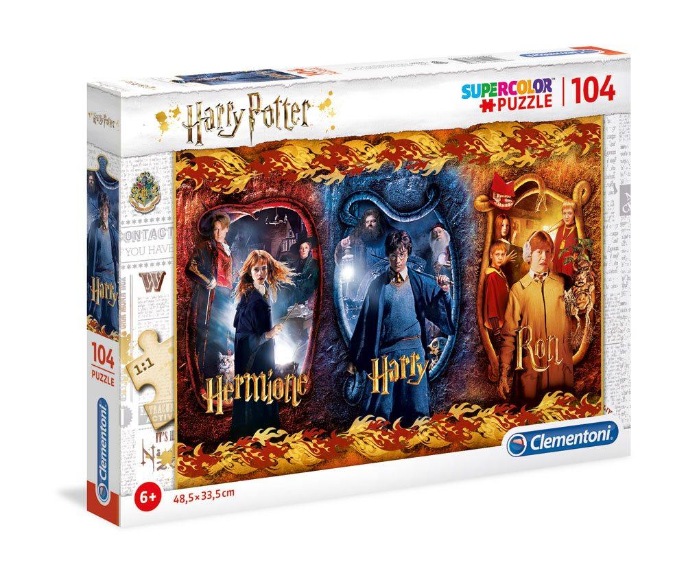 Harry Potter Super Color Puzzle Harry, Ron & Hermione