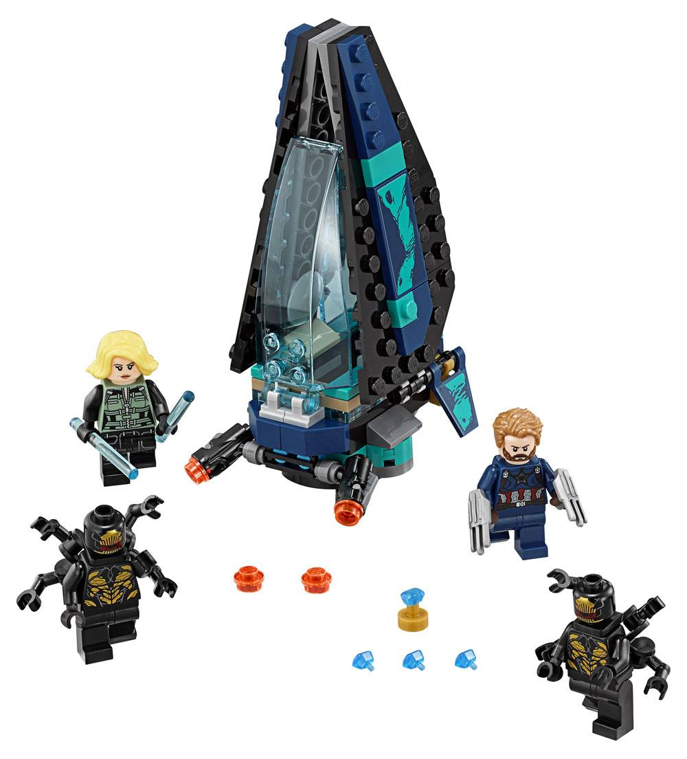 LEGO® Marvel Super Heroes™ Avengers: Infinity War - Outrider Dropship Attack