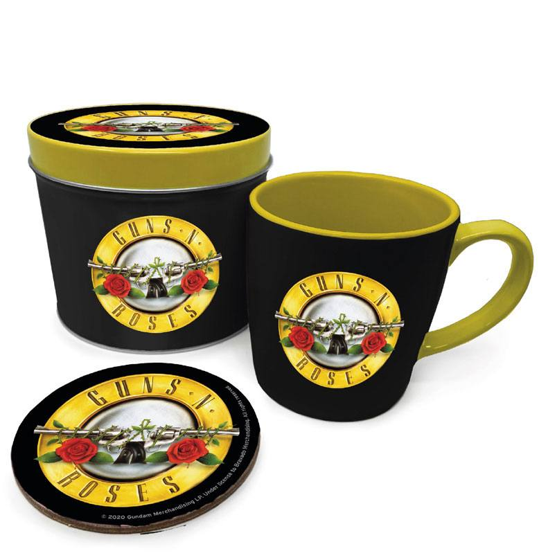 Guns N' Roses Mug with Coaster Bullet Logo