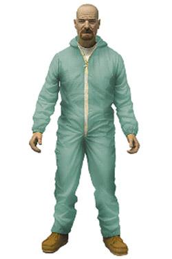 Breaking Bad Action Figure Walter White in Blue Hazmat Suit Previews Exclusive 15 cm